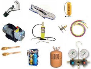 Инструмент для ремонта и заправки холодильников